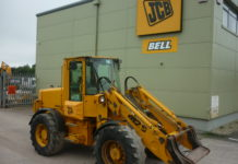 JCB 412S LOADING SHOVEL