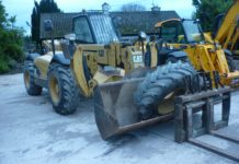 CAT TH360T TELESCOPIC LOADALL