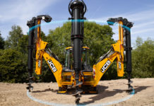 JCB Piling Master Backhoe Loader
