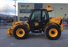 JCB 550-80 TELESCOPIC HANDLER