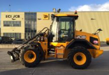 JCB 411 LOADING SHOVEL