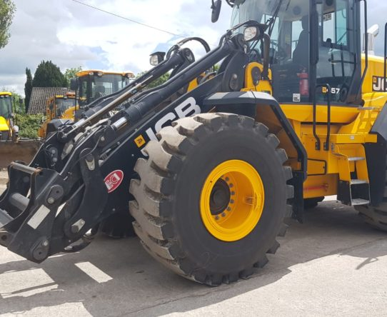 JCB 457HT WHEEL LOADER