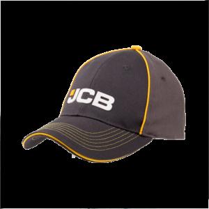 JCB Yellow & Grey Cap