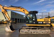 JCBJS220LC Tracked Excavator