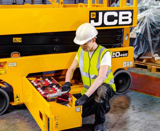 JCB S2646E Electric Scissor Lift