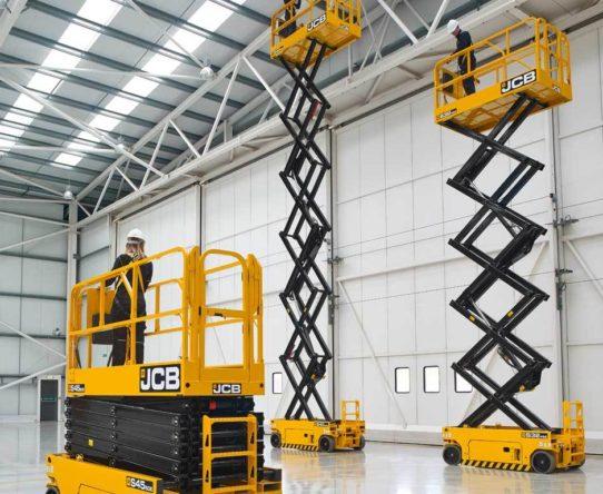 JCB S4550E Electric Scissor Lift