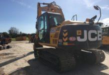 JCB JS131 TRACKED EXCAVATOR