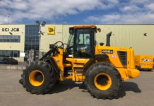 JCB 426e AGRI LOADING SHOVEL